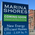 Marina Shores sign