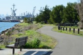 Bay Trail and Enterprise Park - Alameda Point