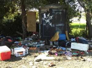 homeless site